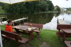 Fischimbiss am Kanal